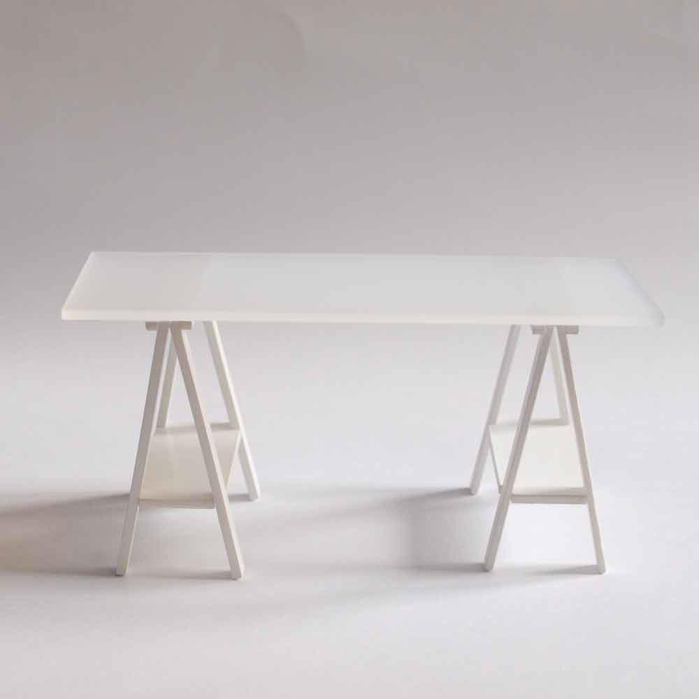 Mesas con caballetes dise os arquitect nicos - Caballetes para mesas ...