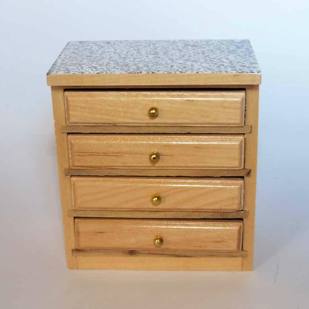 Mueble cajones for Muebles con cajones de madera