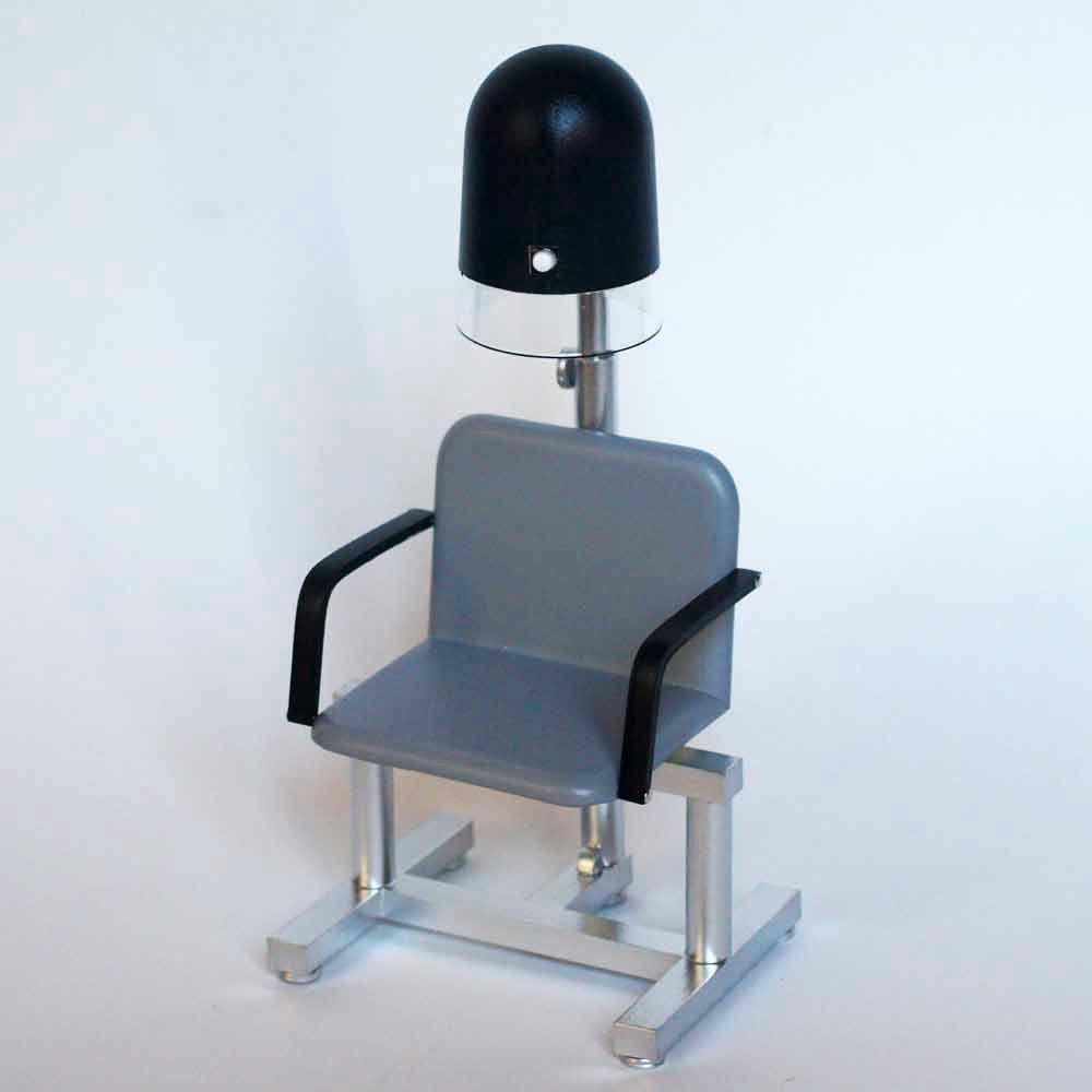 Compra miniaturas modernas secador de pie para casas de for Sillas de peluqueria