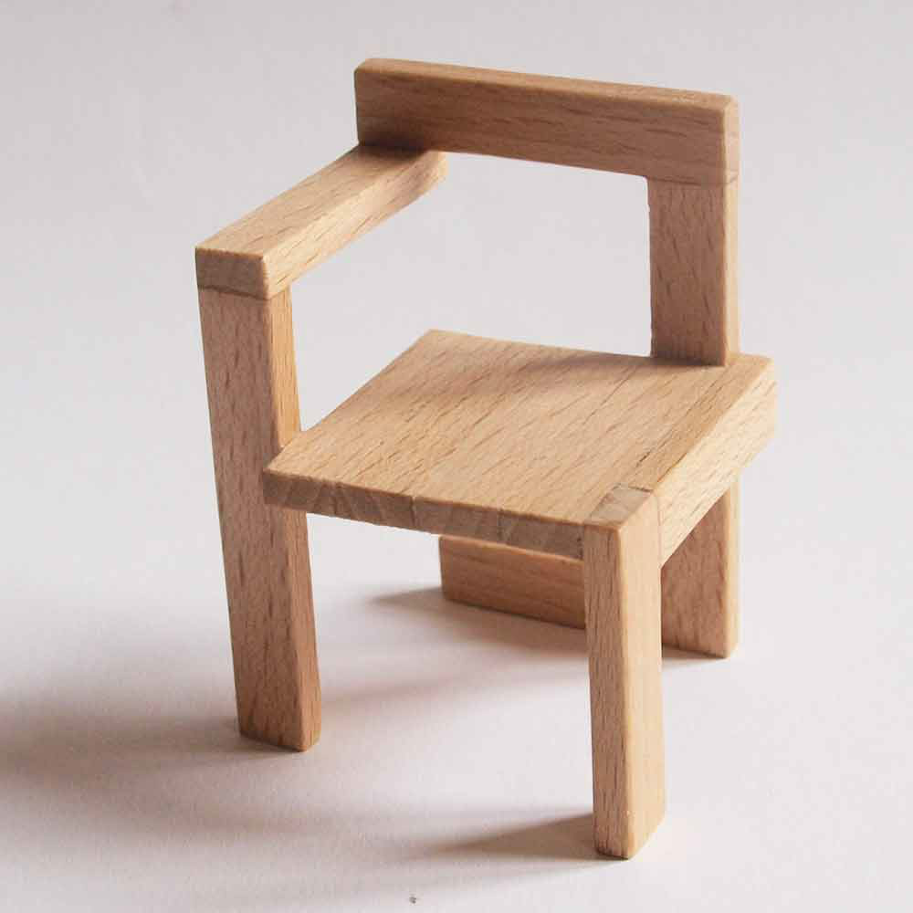 Compra Miniaturas Modernas Silla Steltman Para Casas De